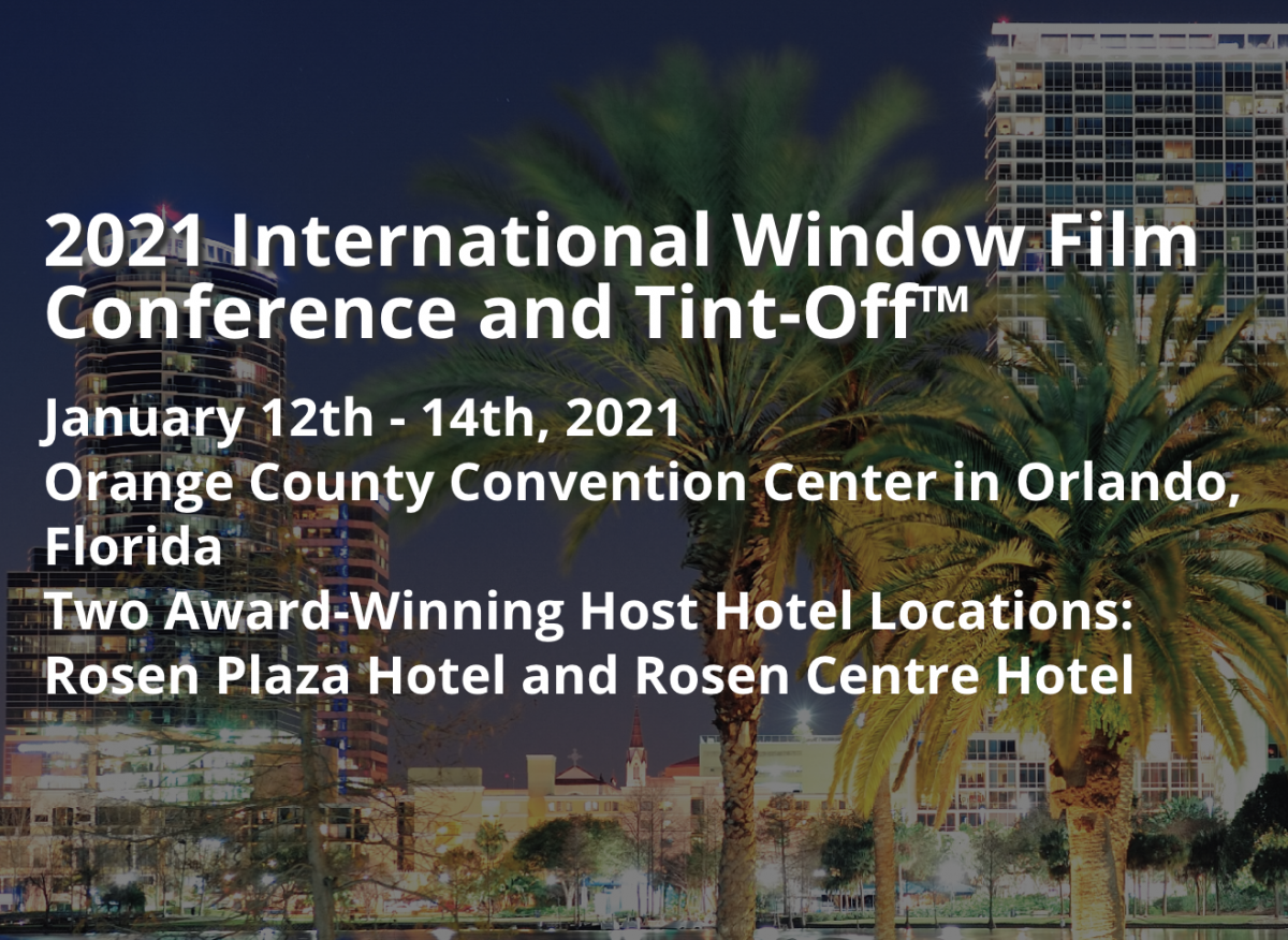 2021 International Window Film Conference and Tint-Off™