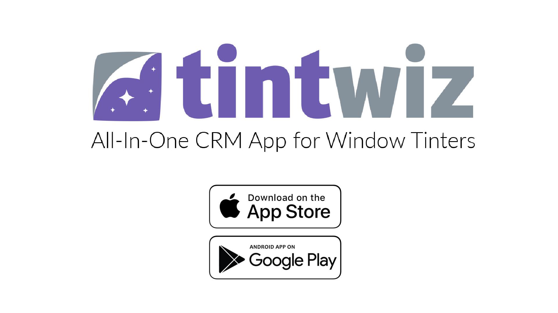 Window Tint Software
